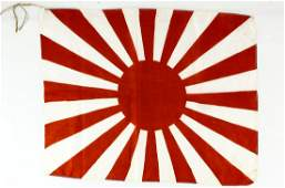 WWII Japanese Battle Flag