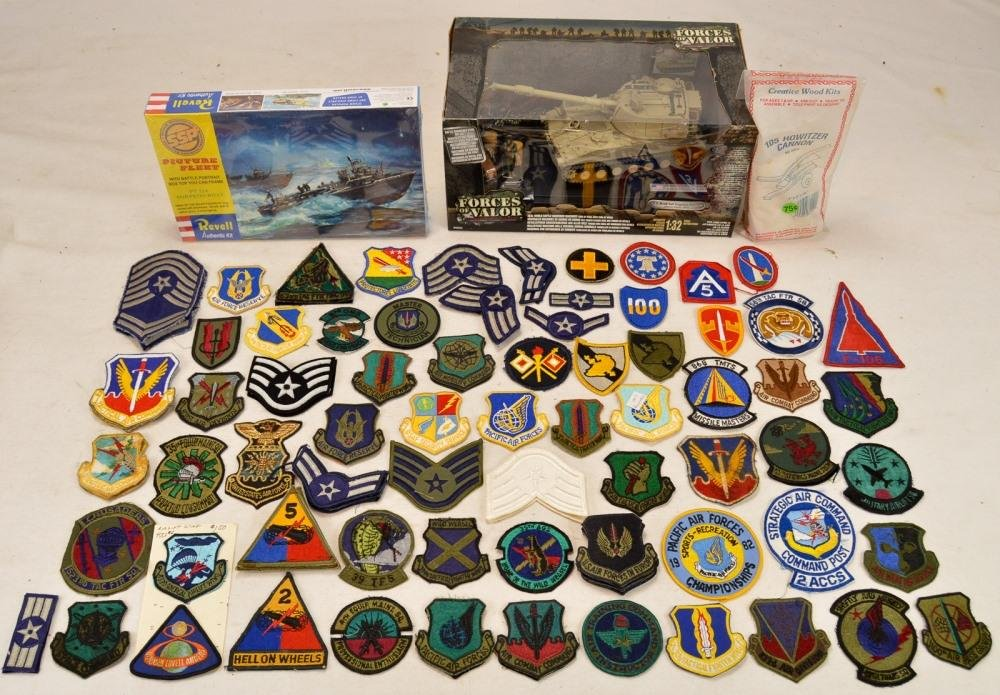 Patches & Toy Lot