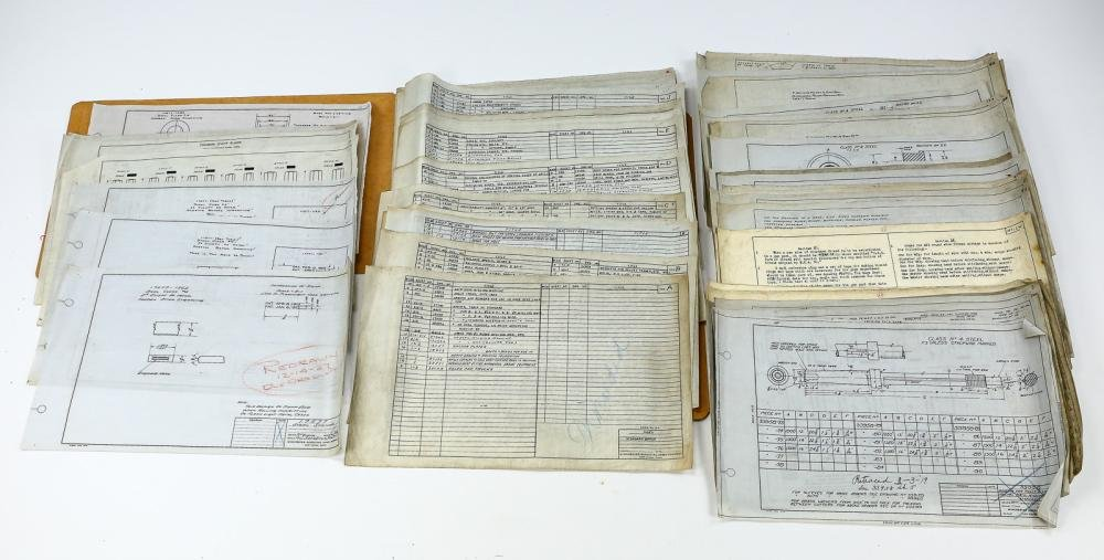 Historic 1900s-1920s Winchester Blueprints