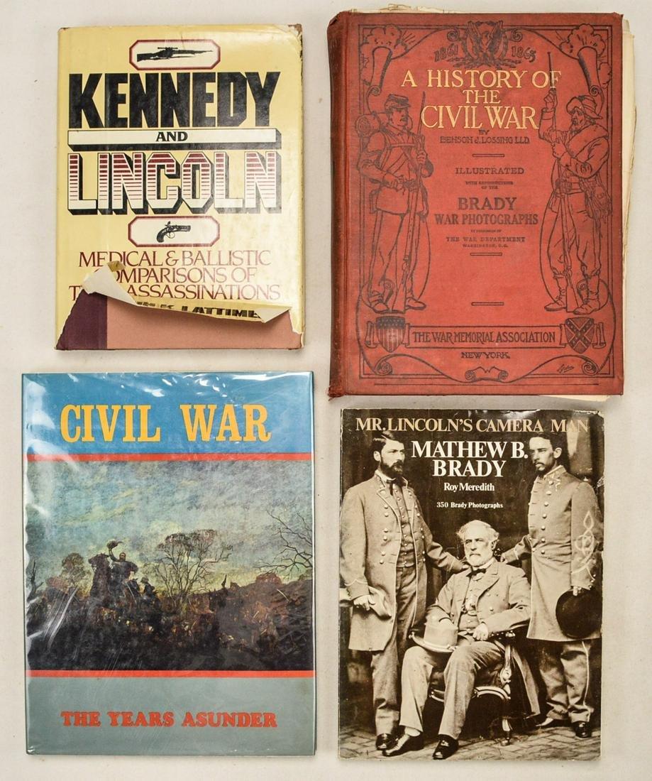 Lot of 4 Civil War History Books