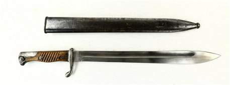"WWI German ""Butcher"" Bayonet"