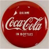 """12"""" Coca-Cola Button (Disc) Sign"""