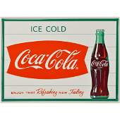 Coca-Cola Sign Ice Cold Enjoy That Feeling