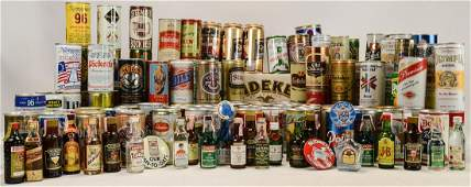 Large Beer Can Collection