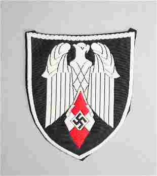 RARE Hitler Youth Flag Bearer Insignia