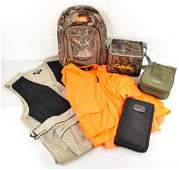 Target Shooters Jacket, Camo Backpack, & More
