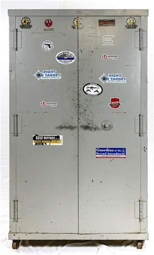 Large Metal Safe/Storage Cabinet