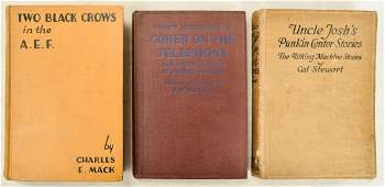 Lot of 3 Vintage Comedy Books