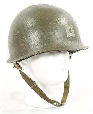 Korean War M1 US Helmet