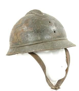 WWI French Adrian Helmet