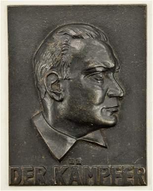 Hermann Goring Cast Iron Plaque