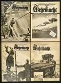 WWII German Wermacht Magazines (4)