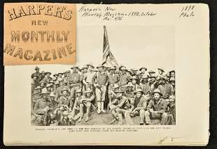 1898 Spanish-American War Harpers Monthly Magazine