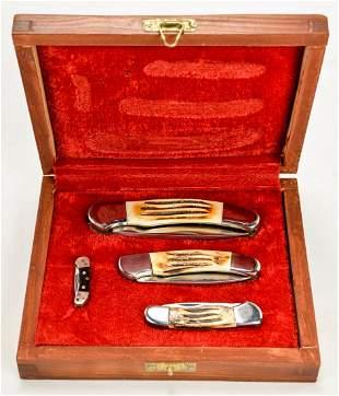 4 Knives in Display Box