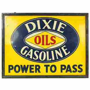 Dixie Oil Gas Sign SSTL