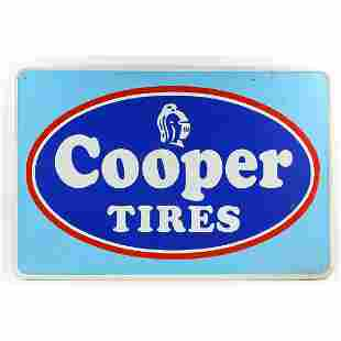 Cooper Tires Single Sided Advertising Sign