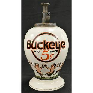 Buckeye Root Beer 5C Soda Fountain Syrup Dispenser