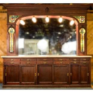 Ice Cream Parlor/Soda Fountain Bar and Back Bar