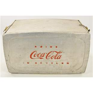 Vintage Coca-Cola Bottle Cooler