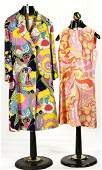 Two 1960's Groovy Dresses