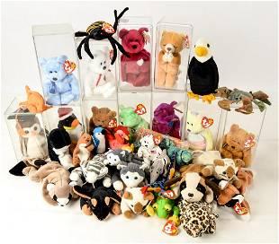 Beanie Babies Assortment - Including VALENTINO!