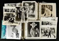 Large Lot of Vintage Celebrity Photographs