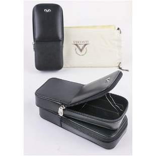 Lot of 3 Visconti Dreamtouch 3 Pen Leather Cases