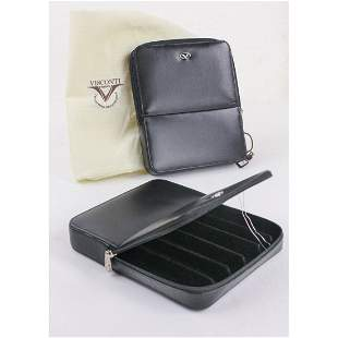 Lot of 2 Visconti Dreamtouch 6 Pen Leather Cases
