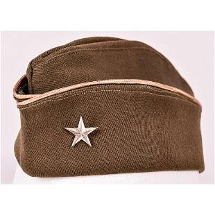 WWII US General Overseas Hat