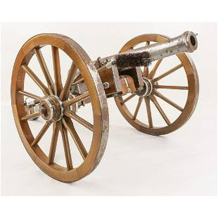 Civil War Style Black Powder Cannon