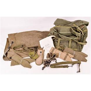 Lot of US Military Web Gear