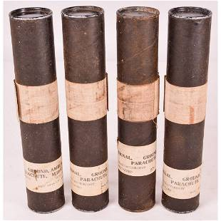 Lot of 4 Sealed Military Signal Flares