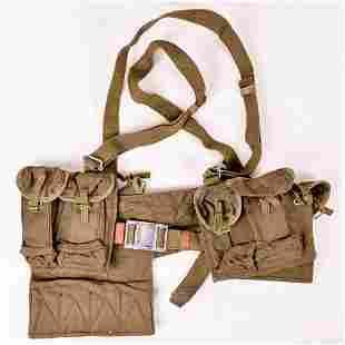 North Vietnamese Combat Belt & Gear