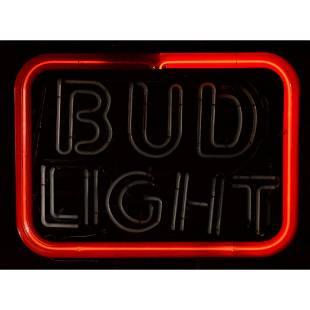 Bud Light Neon Sign