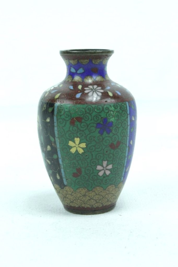 3 Pieces Of Late 20th Century Asian Cloisonne - 6