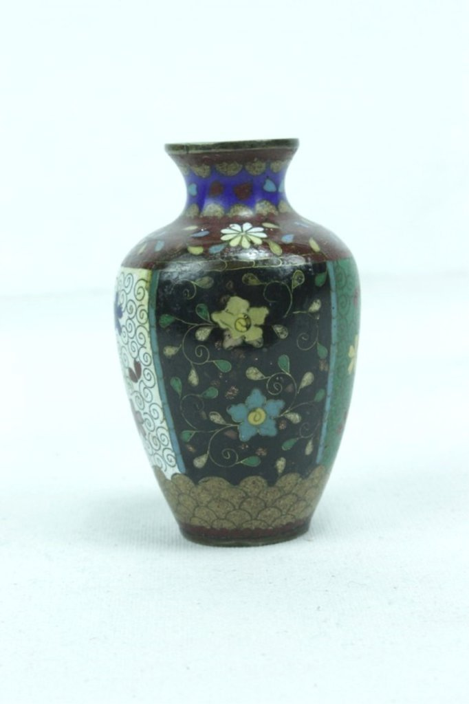 3 Pieces Of Late 20th Century Asian Cloisonne - 7