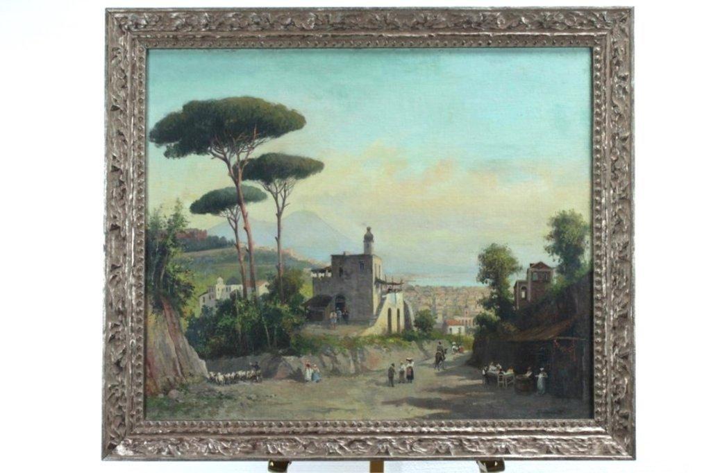Domenico Ammirato Framed Oil Painting on Canvas