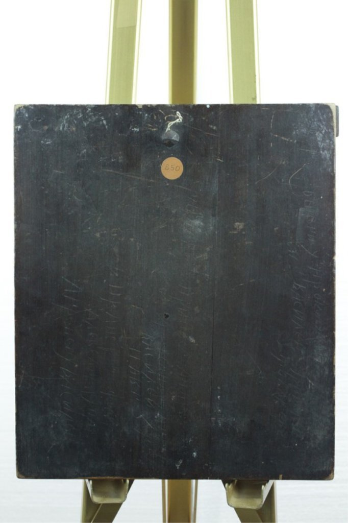 Old Antique Icon On Wood Panel - 2
