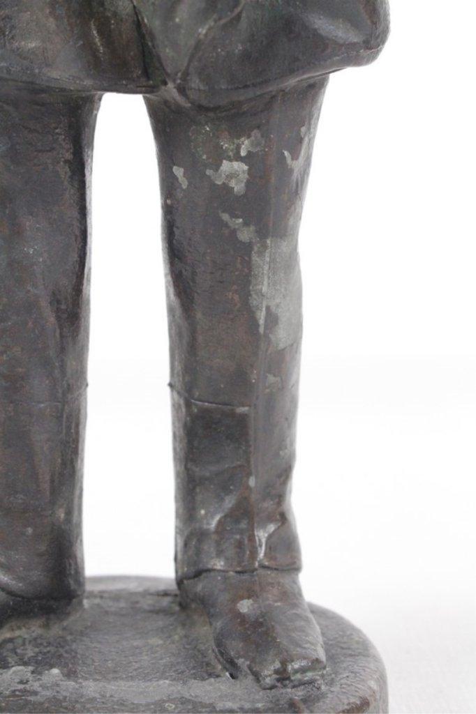 Antique Spelter Metal Sculpture Of Admiral Dewey - 8
