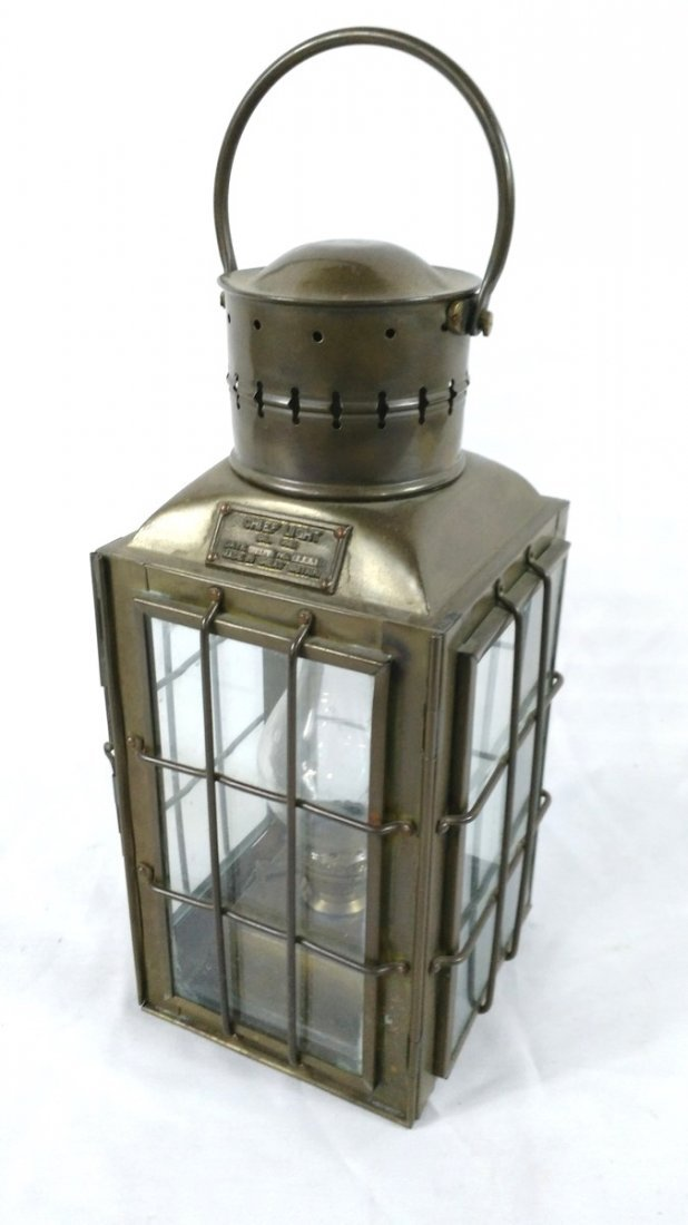 Brass Nautical Chief Light-Oil Lamp