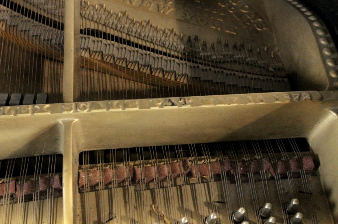 Vintage 1887 Steinway Studio Grand Piano, Model B - 9