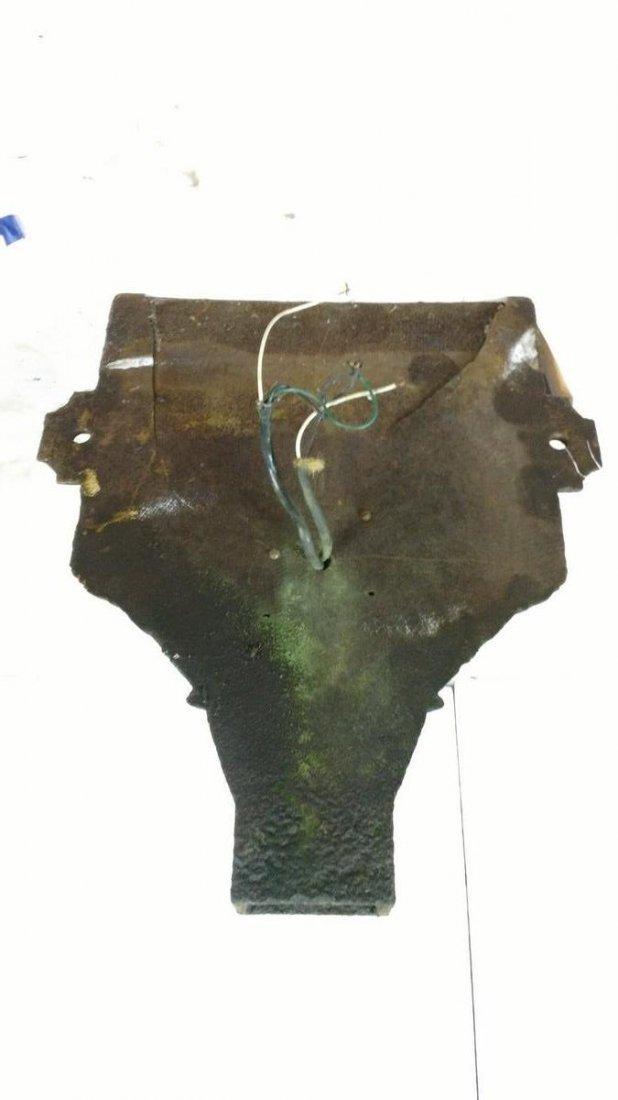 Antique Cast Iron Wall Sconce Gutter Head - 3