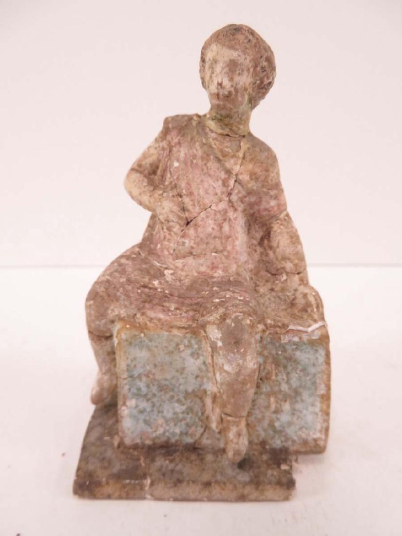 Ancient Terracotta Figural Sculpture Greek ?