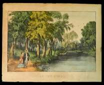 On the Owago by Currier and Ives.