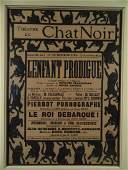 Theatre Du Chat Noir Theater Poster