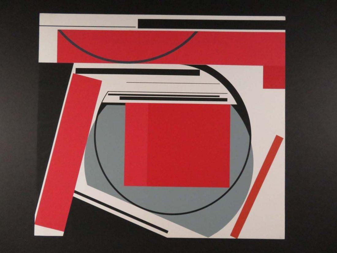 Gunter Fruhtrunk Geometric German Abstract