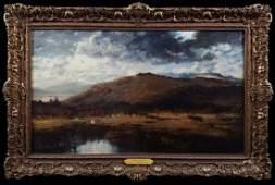 Wm Keith CA landscape Under Dark Clouds