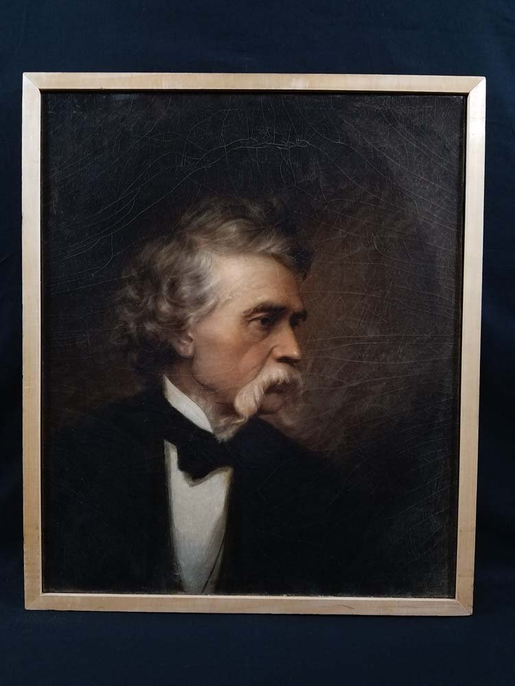 Lewis Thos. Ives portrait of John Mix Stanley