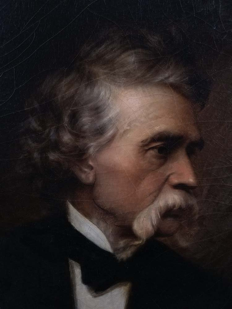 Lewis Thos. Ives portrait of John Mix Stanley - 3