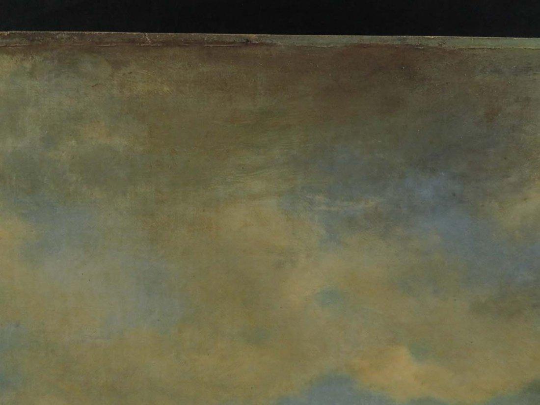 AF Wust LG 30x60 Lake Landscape w/ Geese - 5